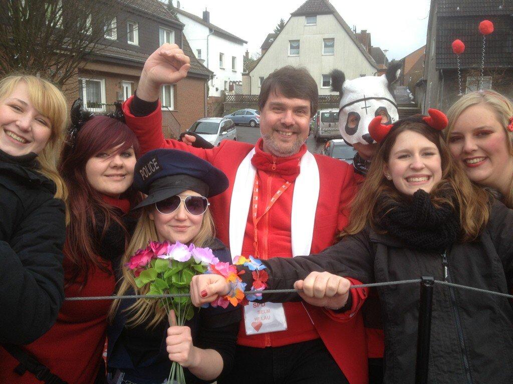 Karneval 2013 in Selm mit den Jusos