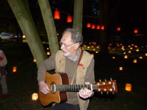 Tolle Stimmung im Park mir Horst Störmer bei der 150 Jahr Feier der SPD Lünen