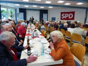 Voller Saal bei der 150 Jahr Feier der SPD Lünen