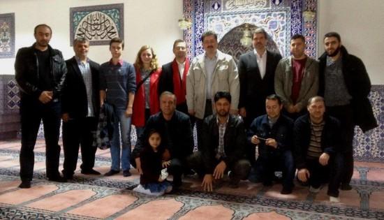 ...und in der Ulu-Moschee in der Heinrichstraße.