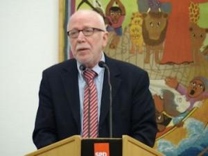 Laudator Staatsminister a.D. Wolfram Kuschke