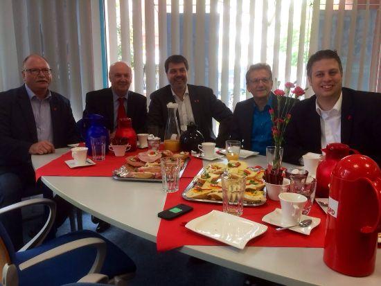Arbeitnehmer Frühstück der SPD Hamm, ein guter Start in den 1.Mai!