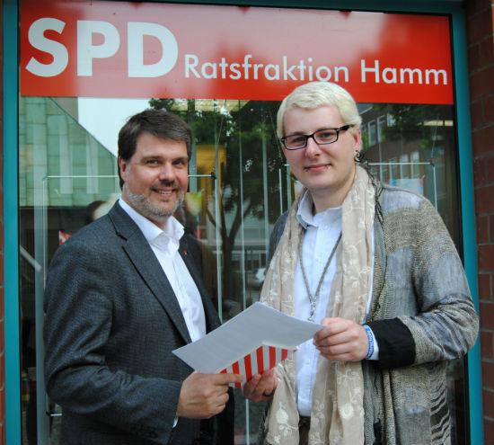 Michael Thews und Johannes Trulsen aus Hamm