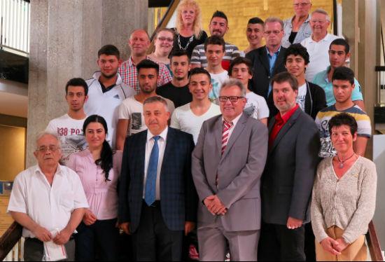 Internationale Jugendbegegnung 13.06.2014