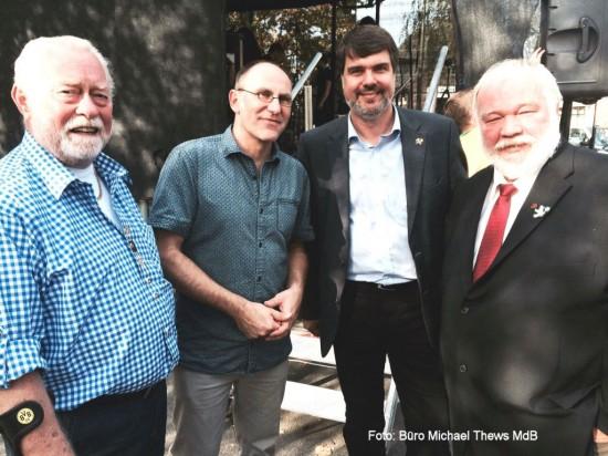 in Werries mit Peter Seese, Olaf Ehrich und Ralf-Dieter Lenz