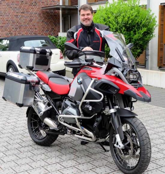 Motorrad Freundschaftstour